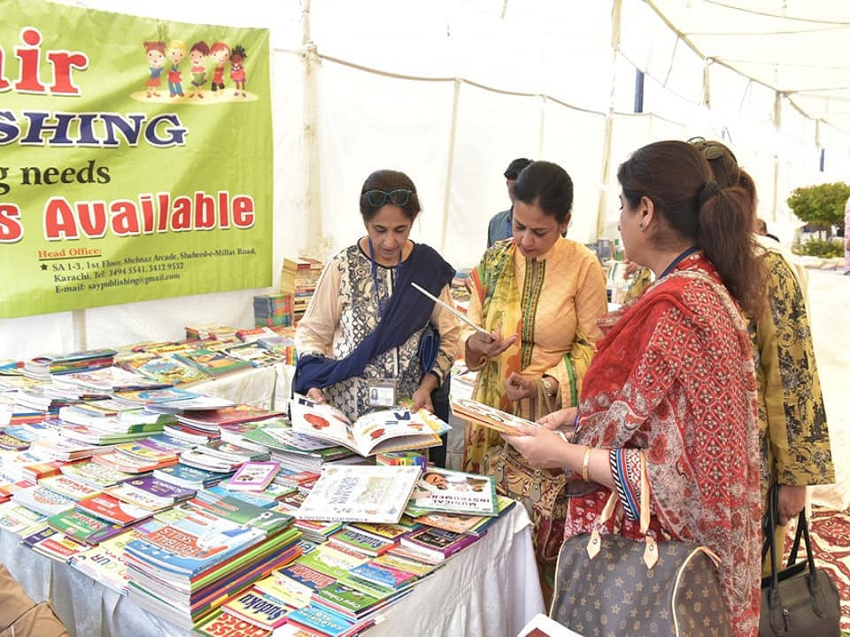 Grand Book Fair 2018 at DCL